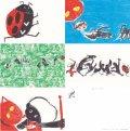 【新品】きくちちき「ちきばんにゃー」ポストカード5枚セット