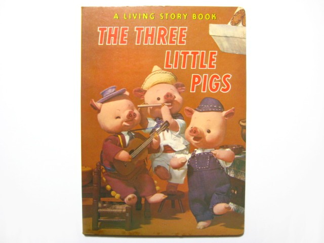 【人形絵本】飯沢匡/土方重巳「THE THREE LITTLE PIGS...  【人形絵本】飯