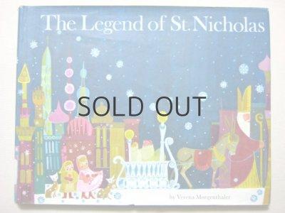 画像1: 【クリスマス絵本】ヴェレナ・モーゲンサラー「The Legend of St.Nicholas」1970年