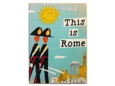画像1:  ミロスラフ・サセック「This is Rome」1966年
