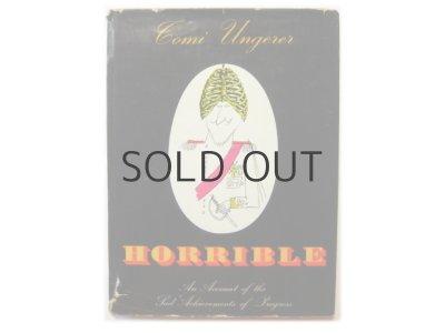 画像1: トミ・ウンゲラー「HORRIBLE」1960年