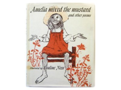 画像1: エバリン・ネス「Amelia mixed the mustard and other poems」1975年