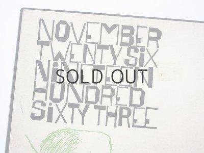 画像3: ベン・シャーン「November Twenty Six Nineteen Hundred sixty three」1964年/函付き ※珍品