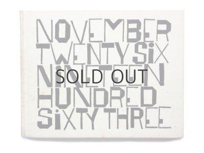 画像2: ベン・シャーン「November Twenty Six Nineteen Hundred sixty three」1964年/函付き ※珍品
