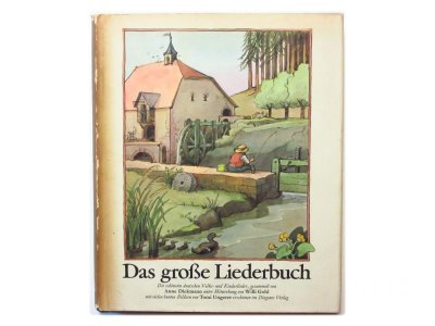 画像1: トミ・ウンゲラー「Das große Liederbuch」1975年
