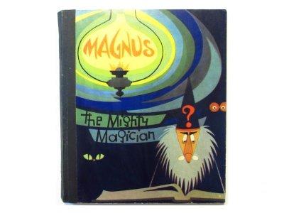 画像1:  【仕掛け絵本】ルドルフ・ルケシュ「Magnus The Mighty Magician」1964年
