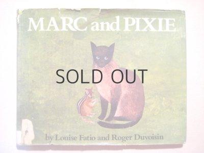 画像1: ロジャー・デュボアザン「MARC and PIXIE」1975年