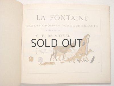 画像3: M・ブーテ・ド・モンヴェル「LA FONTAINE」1920年頃