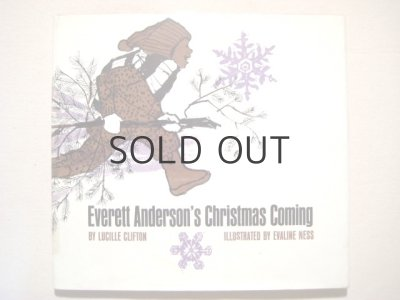 画像1: エバリン・ネス「Everett Anderson's Christmas Coming」1971年