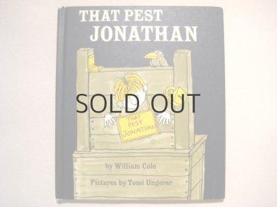画像1: トミ・ウンゲラー「THAT PEST JONATHAN」