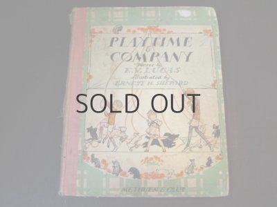 画像1: アーネスト・H・シェパード(クマのプーさんの画家)「Playtime & Company」
